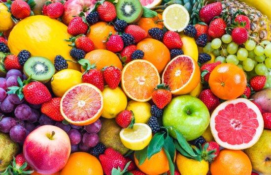 Oxygen rich fruits