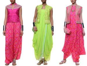 Strand of Silk - Indian Wedding Blog - Bridal Designer Spotlight- Anita Dongre - Dhoti Gowns 1