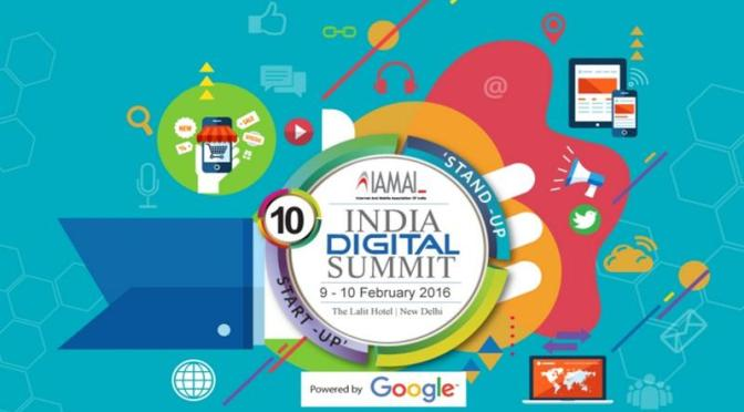 India Digital Summit: Promising days ahead for Startups in India