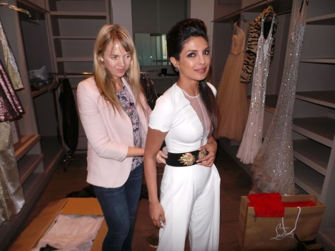 Sophia Banks the stylist of Priyanka Chopra