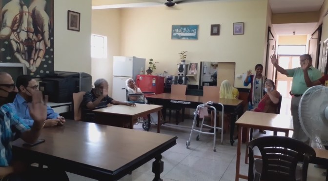 Life at an old Age home during covid-19