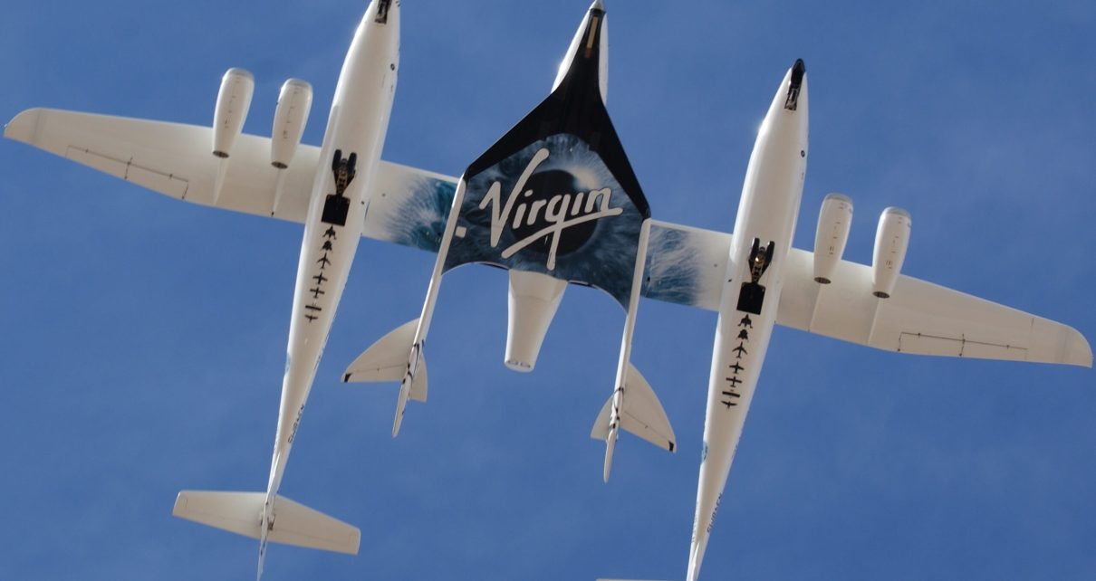 fly to space like Richard Branson