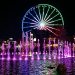 The Wheel on The Island In Pigeon Forge A Tall Ride
