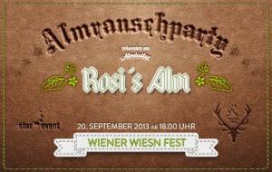almrauschparty rosi alm wiener wiesn-fest