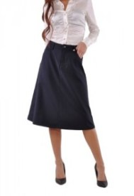 Leicht ausgestellte Röcke