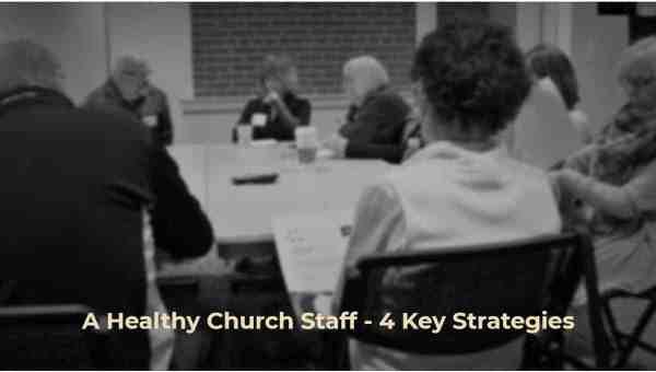 Church Staff Meeting