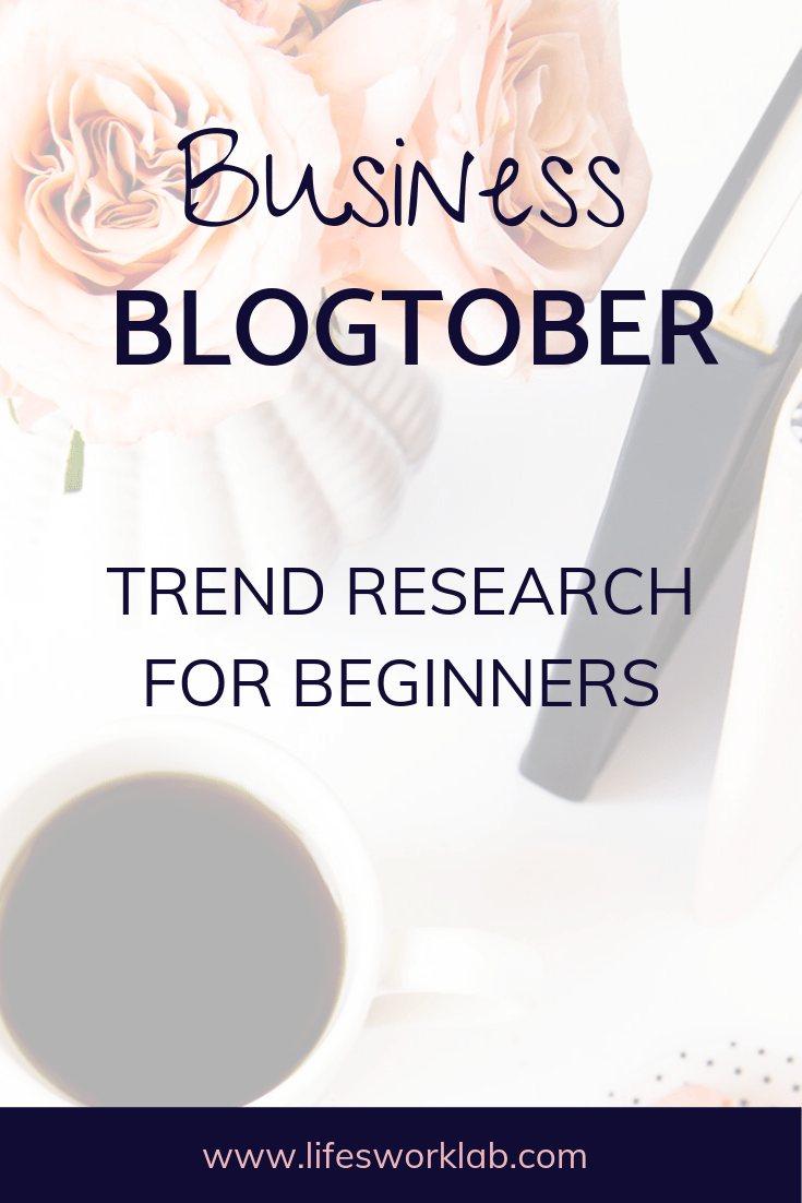Trend Research For Beginners