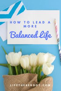 Balanced Life Pin