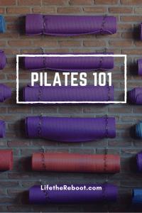Pilates 101 pin