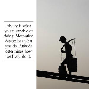 Attitude Self-Confidence Quote