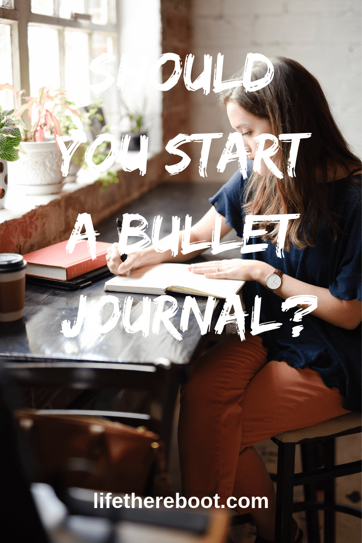 Of all the journaling methods around, the bullet journal is the easiest but has the most confusion surrounding it. Once you know how to make your own bullet journal, and how to use it properly, this form of journaling can help you with your organization. #journaling #bulletjournal #organization #selfdevelopment #lifestyle #gratitudejournal #mindfulness #lifethereboot