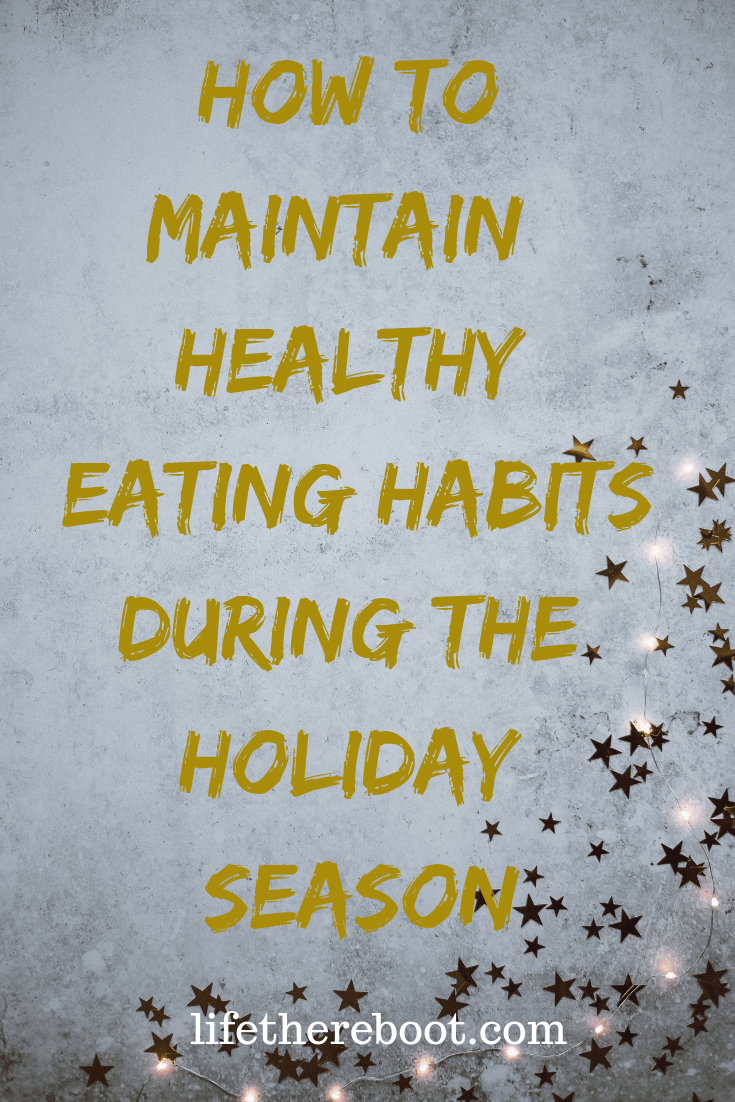 Here are a few tips to help keep your eating habits on track during the holidays. #healthyeating #holidays #health #houstonblogger