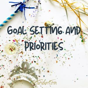 priorities goal setting