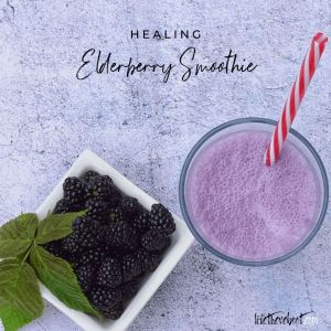 elderberry smoothies
