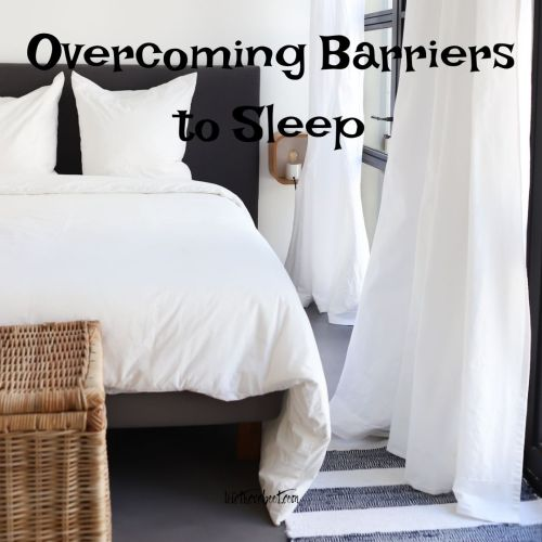 barriers to sleep