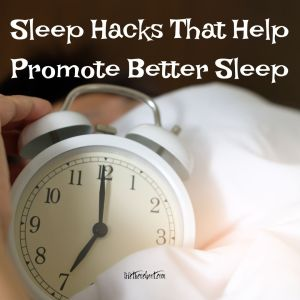 sleep hacks