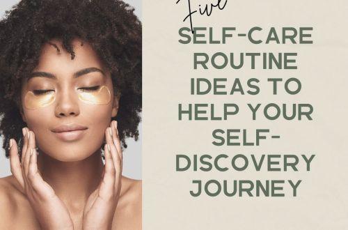 self-care routine ideas