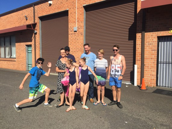 The families best ballet poses!