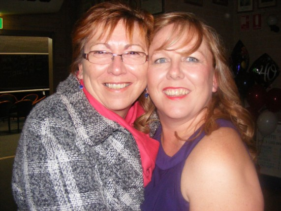 Mum & I at my 40th 2011