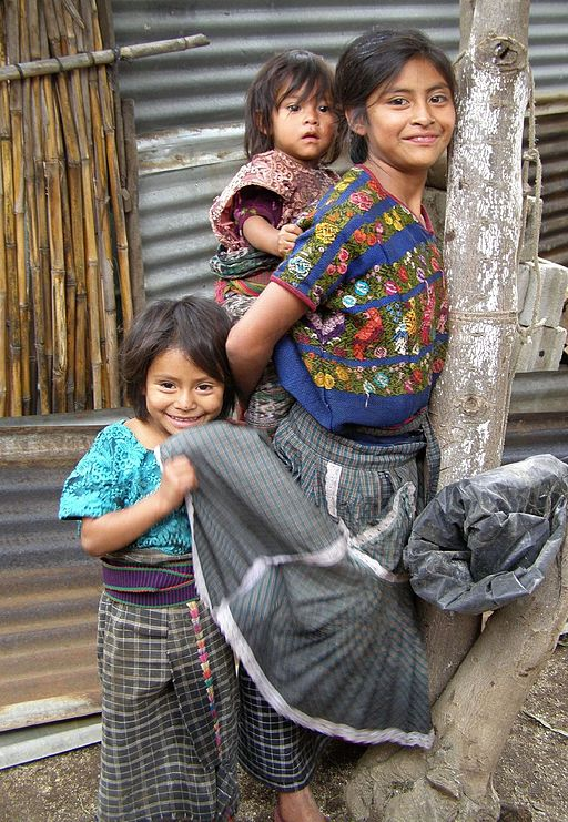 Maya Guatemalan Girls