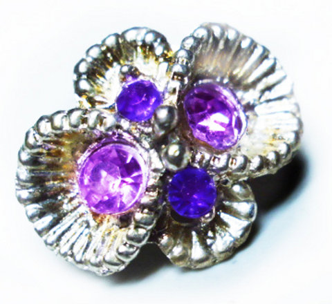 Amethyst Engagement Ring - A Proposal of Purple