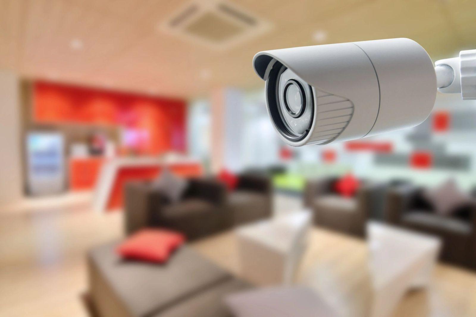 CCTV system inside the house