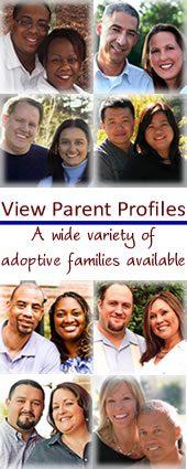 poster about adoptive parent profiles