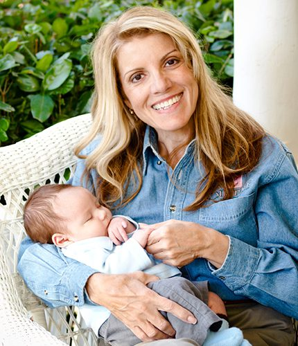 Mardie Caldwell COAP and baby Clayton