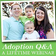 adoption question and answer webinar icon