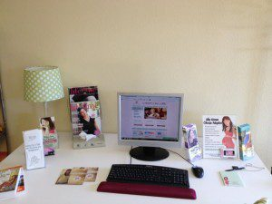 brochures and info to educate pregnant women about open adoption