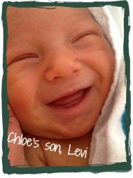 smiling baby photo sent to birth mom who made an adoption plan for son