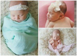 Lifetime adoptive parents Harrison and Rebekah's infant daughter