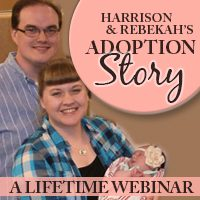 Harrison and Rebekah's adoption story