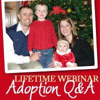 Icon for Lifetime's adoption Q&A webinar