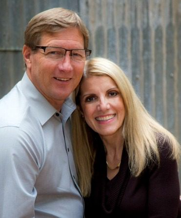 Adoption expert Mardie Caldwell with her husband