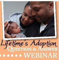 Webinar icon: Lifetime's Adoption Question & Answer Webinar