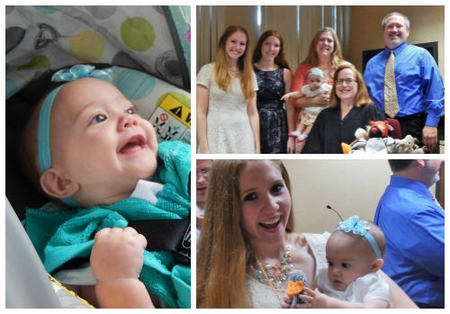 Collage of photos from Darryl and Melissa's adoption