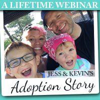 A Lifetime Webinar: Jess & Kevin's Adoption Story