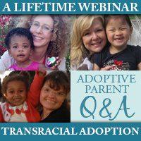 A Lifetime Webinar: Transracial Adoption