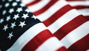 American Flag, Lifetime can not provide services outside the United States