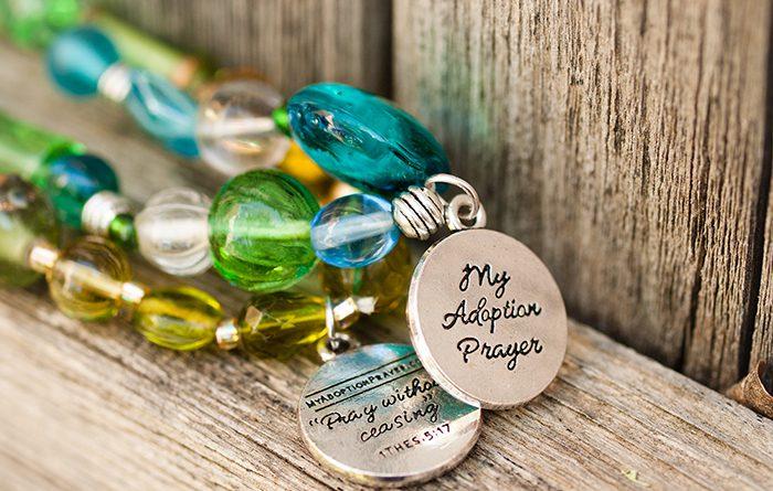 adoption prayer bracelets