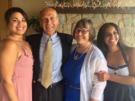 Joan Oas family