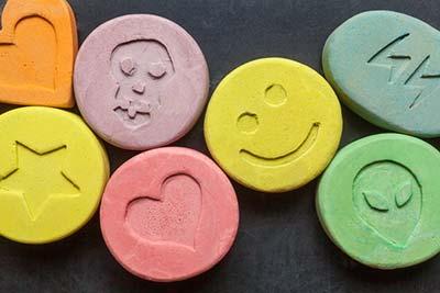 Examples of date rape drug Ecstasy