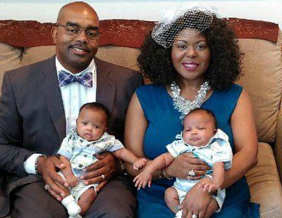 Justin and Tanya adopted twins!
