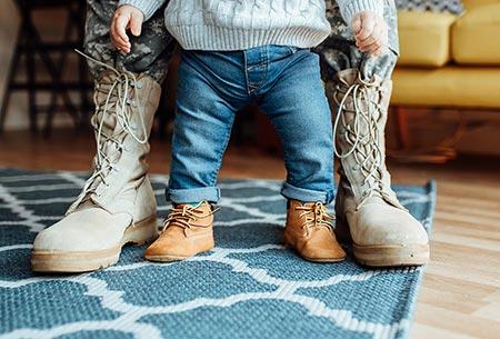 Military adoptive family
