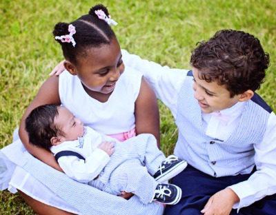 Brent and Latonia's children