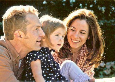 Geoff and Tracy and their daughter, Abigail