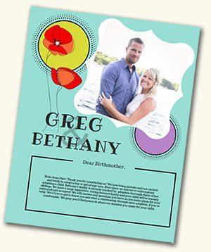 Greg and Bethany's adoption profile