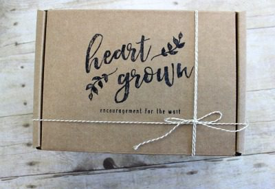 A HeartGrown subscription box for adoptive moms-in-waiting