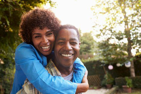 African American couple in their 50s